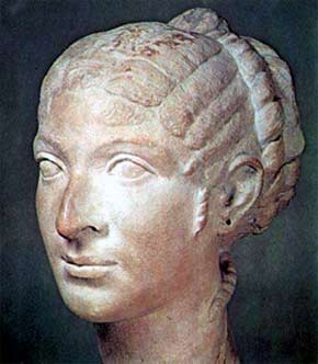 Busto de Cleopatra VII Filópator