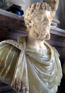 Busto del emperador romano Septimio Severo