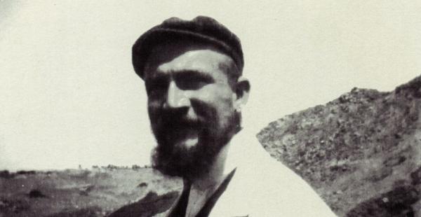 Fotografía histórica que nos muestra a Koldewey