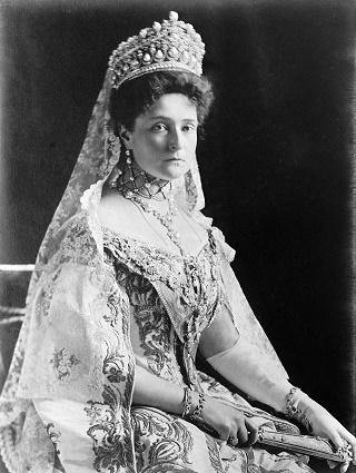 Fotografía de la zarina Alejandra Fyodorovna, la última de la dinastía Romanov