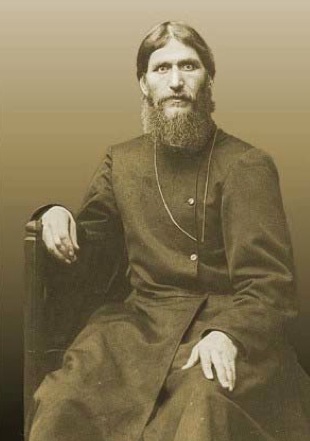 Otra famosa fotografía de Rasputín