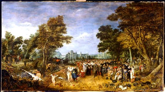 Cuadro alegórico de la tregua de los doce años (1609-1621)