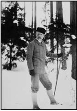 Fotografía de Fridtjof Wedel-Jarlsberg Nansen