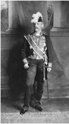 Nansen como embajador de Noruega en Londres