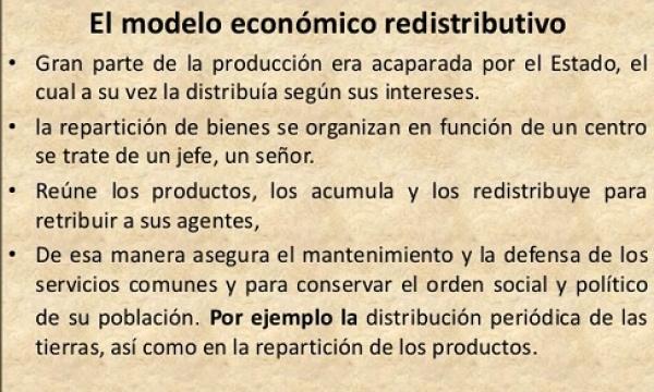 Una explicación muy básica y sencilla del modelo económico redistributivo
