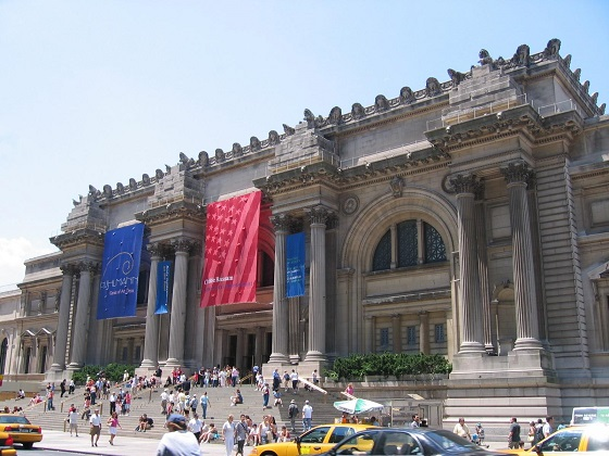 Vista del exterior del Museo Metropolitano de Arte de Nueva York