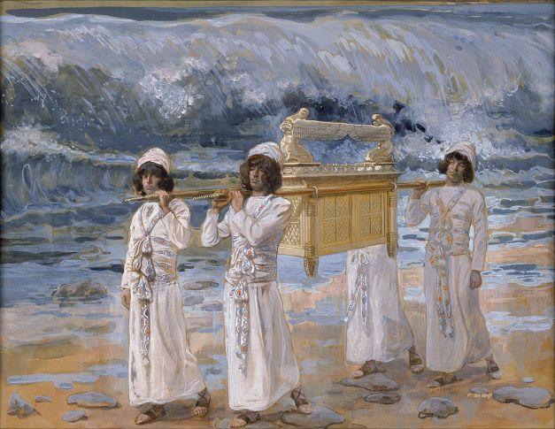 Uno de los cuadros de James Tissot referentes al Arca de la Alianza