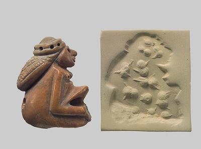Amuleto del periodo Yemdet Nasr