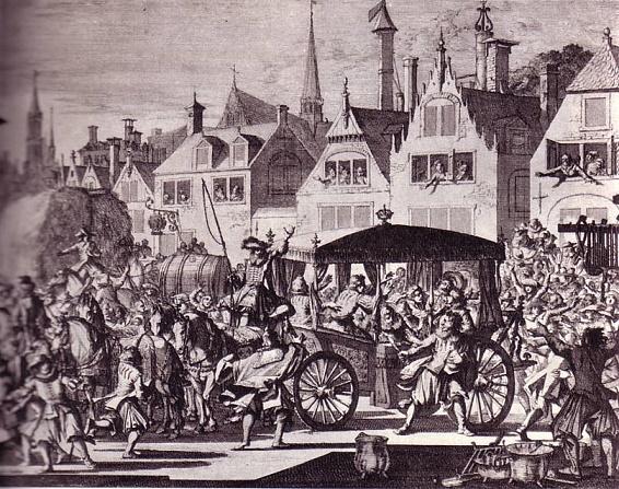 Asesinato del rey Enrique IV de Francia en 1610