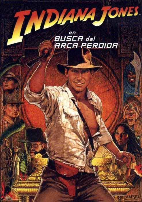 """Cartel de la película """"Indiana Jones en busca del arca perdida"""""""