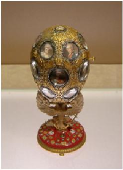 El huevo del tricentenario de la Dinastía Romanov