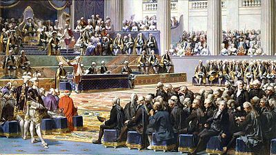 Inauguración de los Estados Generales franceses de 1789
