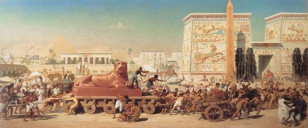 "1867, Edward Poynter - ""Israel en Egipto"""