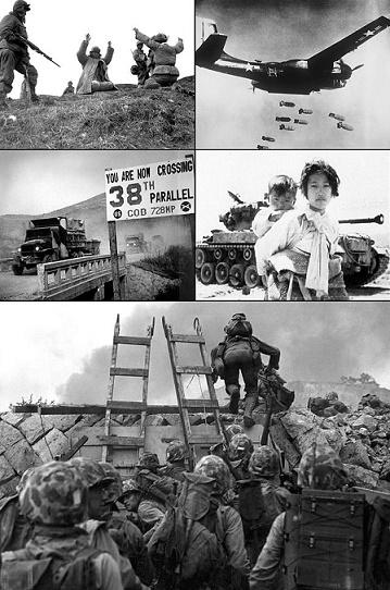Algunas fotografías históricas de la Guerra de Corea