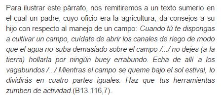 Aquí hay fragmento del Almanaque Agrícola, del periodo de la III Dinastía de Ur
