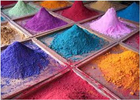 Colores en polvo