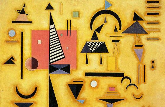 Cuadro perteneciente a la corriente artística vanguardista del dadaísmo