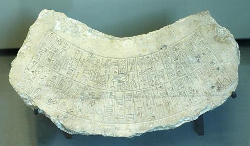 Inscripción datada del reinado de Naram Sin