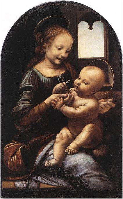 La Madonna Benois, 1475-78, Leonardo da Vinci