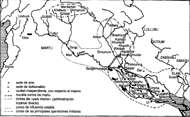 Mesopotamia durante la III Dinastía de Ur