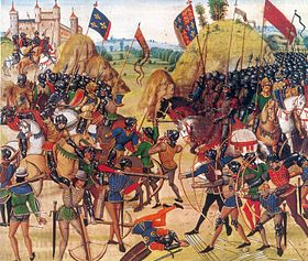 Batalla de Crecy, 1346