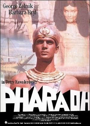 """Cartel promocional de la película """"Faraón"""", dirigida por Jerry Kawalerowicz"""