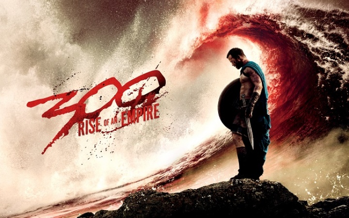 Cartel promocional de la secuela de 300