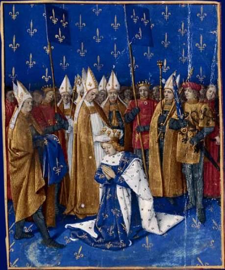 Coronación de Carlos VI de Francia en 1430