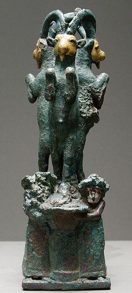 Posavasos de oro, bronce y plata de inicios del periodo Isin-Larsa