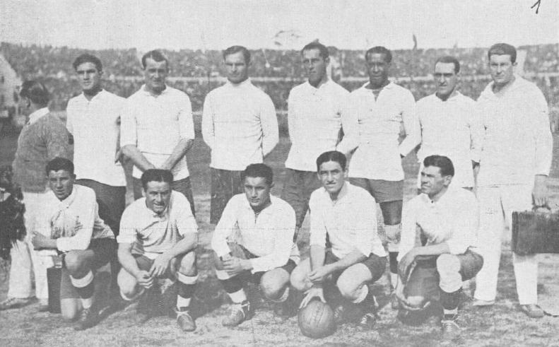 Selección nacional uruguaya de fútbol, ganadora del primer Mundial de la Historia, en 1930