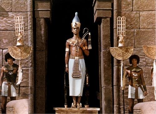 """Uno de los fotogramas de la película """"Faraón"""""""