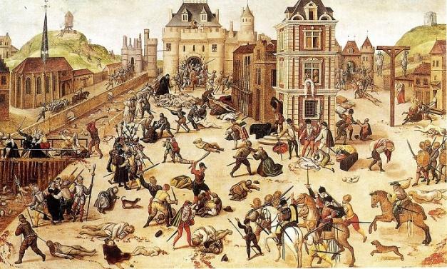 Cuadro de Francois Dubois, pintor contemporáneo a la matanza