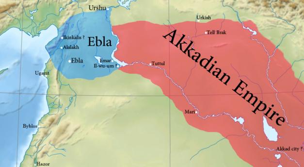 El reino sirio de Ebla durante la época del rey acadio Naram-Sin