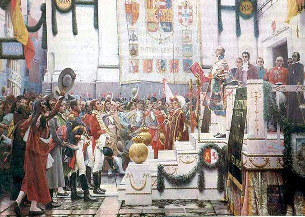 Promulgación de la Constitución de Cádiz de 1812