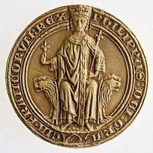 Moneda que representa a Felipe IV