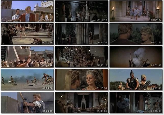 Colección de fotogramas diversos de la película