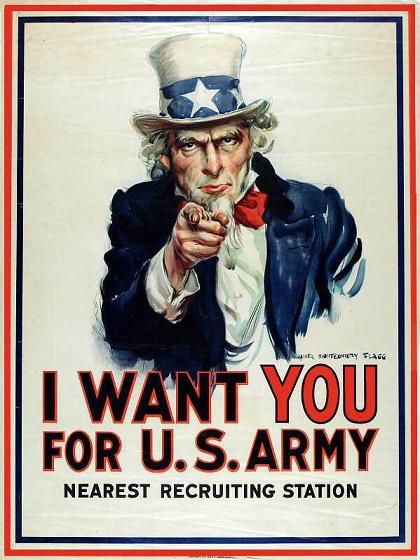 El cartel de propaganda más famoso de la Historia militar estadounidense