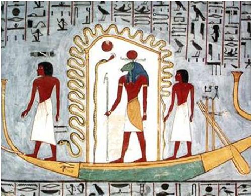 Iconografía de la barca solar