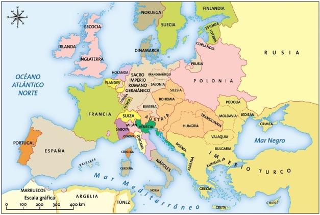 Europa en el siglo XVII
