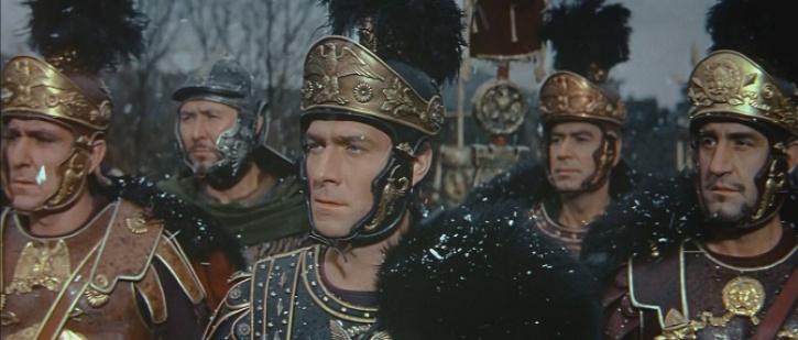 """Otro de los fotogramas de la película """"La caída del Imperio Romano"""""""