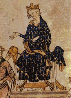 Representación de Felipe VI de Francia