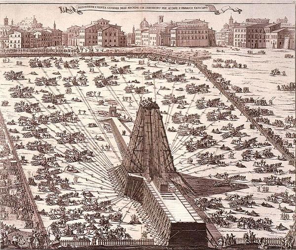Recreación hecha a mediados del siglo XVIII