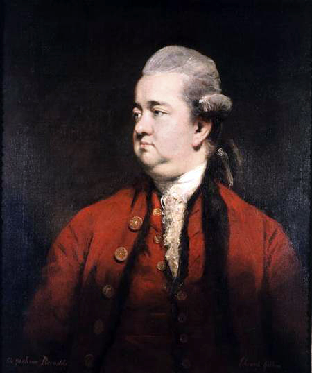 Retrato de Edward Gibbon