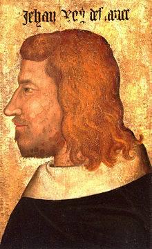 Retrato de Juan Ii, el Bueno (1319-1364)