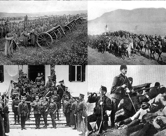 Algunas fotografías de la Primera Guerra de los Balcanes