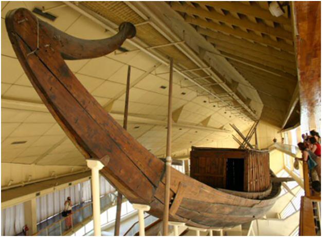 Barca solar de Keops