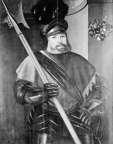 Georg von Frundsberg, posible inspiración para El oficio de las armas