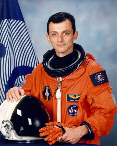 Pedro Duque, primer español en el espacio