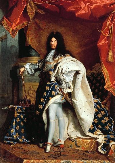 Probablemente el más famoso de los abundantes retratos que se conservan del rey francés Luis XIV