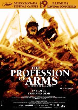 Uno de los carteles promocionales de El oficio de las armas